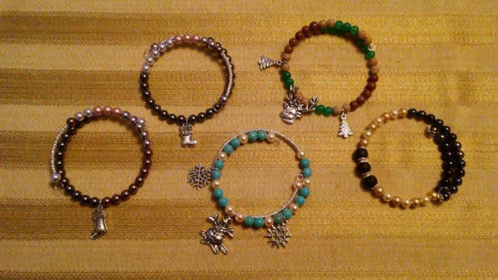 Bangle bracelets for the Holidays